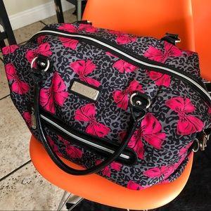 Betsey Johnson travel bag